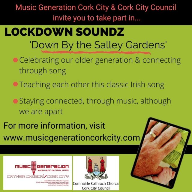 The next in the Lockdown Soundz series - a song-sharing experience to cross the generations... #bealtainefestival #corkcitycouncil #wbyeats